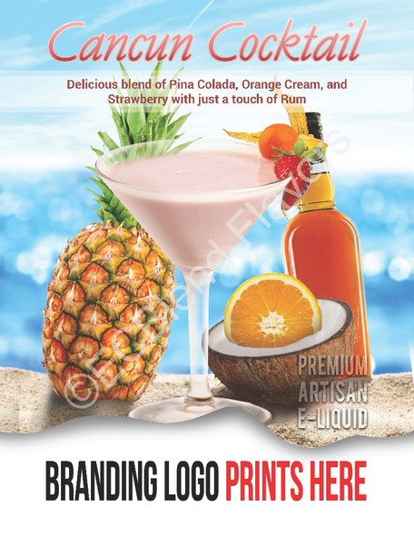 ECBlend Product Poster-CancunCocktail