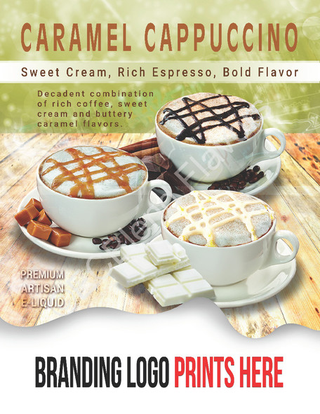 ECBlend Product Poster-CaramelCappuccino