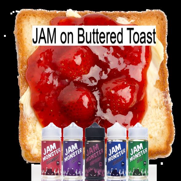 Jam Monster - Jam on Buttered Toast