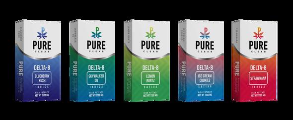 Pure Clear Brand - Delta-8 Cartridge - 1 Gram