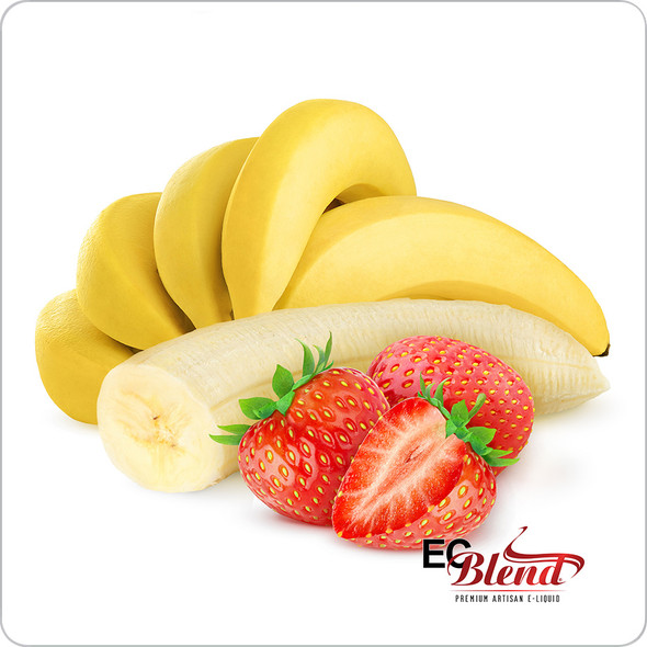 Strawberry Banana - Premium Artisan E-Liquid | ECBlend Flavors