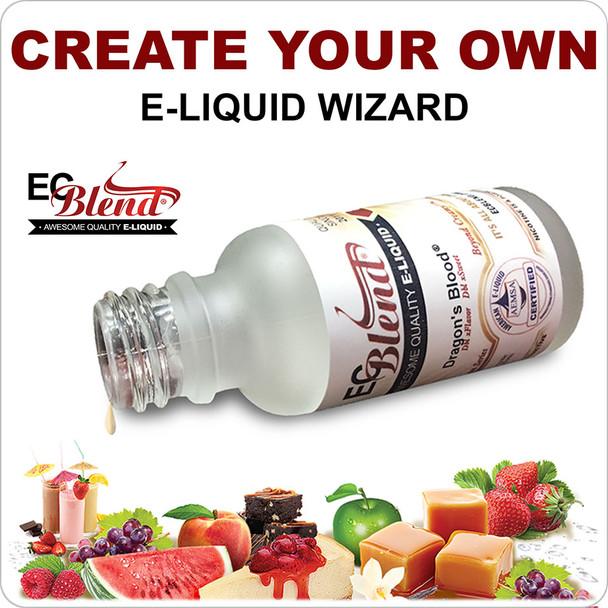 ECBlend Reseller - Create Your Own E-Liquid Wizard