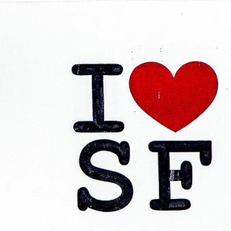 I Heart SF Sign