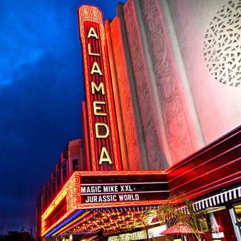 Alameda Theatre Sign