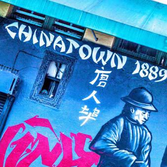 Chinatown 1889 Mural