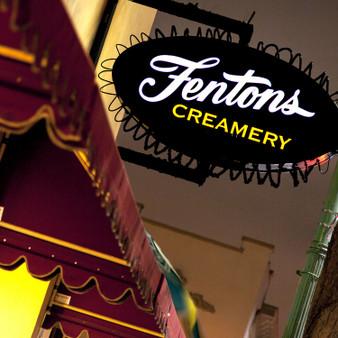 Fenton's Creamery Sign
