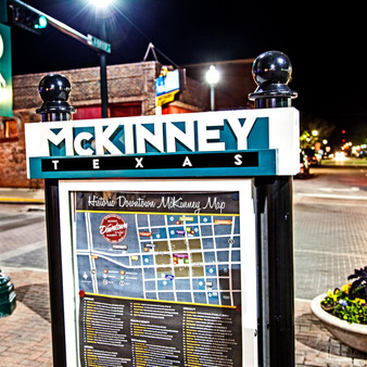 Established in 1848, this plaza is in McKinney's historic downtown, featuring dozens of shops, dining options, and entertainment.