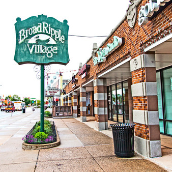 <p>Broad Ripple Village is a  diverse and unique venue for eating, entertainment, and shopping.<p><p>Click &lsquo;Choose a Product&rsquo; above to get this image handprinted on a ceramic 4x4 custom coaster, cutting board, magnet, ceramic trivet, ornament, dog tag or canvas.<p>
