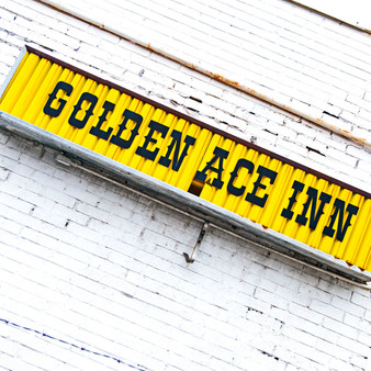 <p>Golden Ace Inn first opened the doors on March 1st, 1934, four months after prohibition, Irish immigrants John and Ann McGinley. The Golden Ace is Indy's oldest Irish pub and was voted one of the top 21 Irish Pubs in the US.<p><p>Click &lsquo;Choose a Product&rsquo; above to get this image handprinted on a ceramic 4x4 custom coaster, cutting board, magnet, ceramic trivet, ornament, dog tag or canvas.<p>
