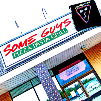 <p>Some Guys Pizza Pasta Grill' has been serving food for over 30 years. <p><p>Click &lsquo;Choose a Product&rsquo; above to get this image handprinted on a ceramic 4x4 custom coaster, cutting board, magnet, ceramic trivet, ornament, dog tag or canvas.<p>
