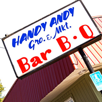 Handy Andy Grocery is a great little locals spot in Oxford, Mississippi.