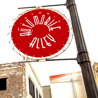 Take a trip to the heart of Downtown Oklahoma City with this historic sign. Automobile Alley represents one of the first major industries that fed Oklahoma's economy.