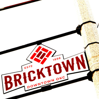 The warm welcome to the ultimate warehouse district where guests can cruise the canal, enjoy nightlife, and have great eats. Bricktown is truly one of a kind and this hippie-inspired sign is a classic example of that.