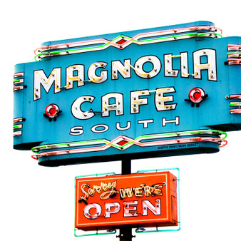 The Magnolia Cafe on Lake Austin Blvd began as the Omelettry West in 1979, opened by Ken Carpenter (owner of the Omelettry on Burnet Rd) and Kent Cole.