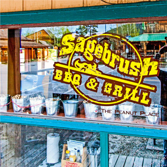 With the pristine Colorado mountains in the background, this Western Barbeque and Grill promises customers a good time between its stunning views, friendly people, and great food. Featuring peanut shells on the floor, one of Sagebrush's top goals is to make visitors feel right at home while providing a unique charm.
