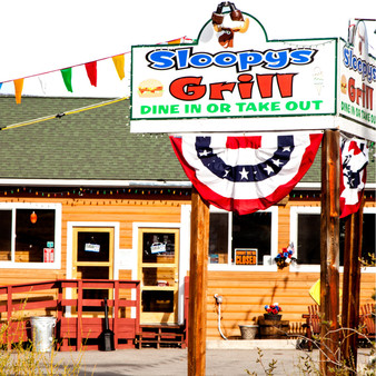 Family owned and operated, Sloopy's Grill is the first restaurant stop when leaving the Rocky Mountain National Park. Presented as a humble roadside hub, this diner offers breakfast, burgers, and soft serve ice cream plus beer and wine.