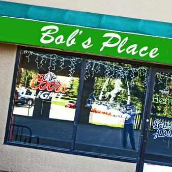 Bobs Place is a comfy, rustic bar offering burgers, breakfast & Mexican dishes amid TVs & mountain views. Since 1992 Bob's Place has prided itself in offering a wide variety of eating options, from rich and savory to light and refreshing.