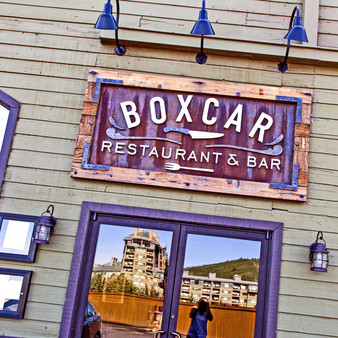 The Boxcar Restaurant is a gastropub located in Avon, Colorado. Boxcar blends well-priced cuisine with unique cocktails and a variety of wines and beer, making it a modern and charming locale for your dining and quaffing pleasure.