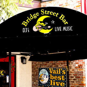 """Bridge Street Bar is the place to go for drinks, live music and a taste of Vail Village's late-night scene. With a tagline of """"A Ski Bum's Paradise,"""" Bridge Street Bar is a prime spot for those who like to play hard all day on the mountain and well into the night."""