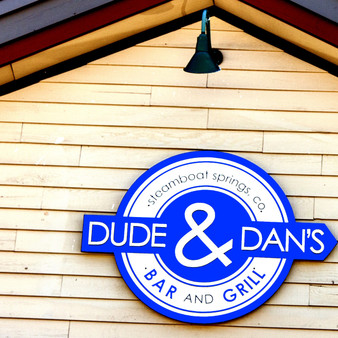 Dude and Dan's Bar and Grill is a family friendly sports bar located in downtown Steamboat. Dude and Dan's prides itself on providing the highest quality, house made food, and friendliest service you'll find.