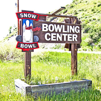 At Snow Bowl Bowling Center, looks may be deceiving at first as the sign features bowling yet at first glance it looks like a restaurant; however, that's because it's both. This full-service, upscale restaurant offers inventive cocktails, craft food and bowling. Additionally, the owners try to host events here as much as possible.