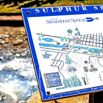Found in the city of Steamboat Springs is the Hot Sulphur Springs - a statutory town featuring a dozen natural hot springs and many resorts and spas.