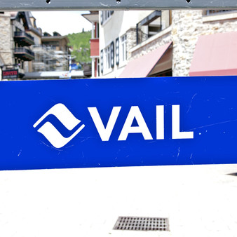 With European architectural elements presented throughout the city, this rich blue sign welcomes visitors and locals into this quaint, charming town. Found at the base of Vail Mountain and home to the massive Vail ski Resort, this winter sport gateway town is placed in the center of the White River National Forest.