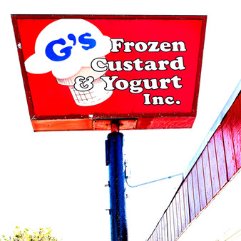 <p>G's Frozen Custard located in Topeka, KS has been locally owned and serving up smiles in 1991!<p><p>Click &lsquo;Choose a Product&rsquo; above to get this image hand printed on a ceramic 4x4 custom coaster, cutting board, magnet, ceramic trivet, ornament, dog tag or canvas.</p>