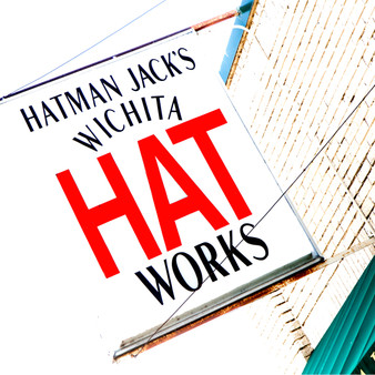 <p>Founded in 1976, Hatman Jack's has become the third-largest hat store in the nation, and a cornerstone of the historic Delano neighborhood in Wichita, Kansas.<p><p>Click &lsquo;Choose a Product&rsquo; above to get this image hand printed on a ceramic 4x4 custom coaster, cutting board, magnet, ceramic trivet, ornament, dog tag or canvas.</p>