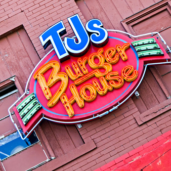 <p>In August of the year 2000, the founders of TJ's Burger House opened up a small family-owned restaurant in Delano Oldtown that caters to the public locally. Though they used the burger restaurant as a stepping-stone to fine dining; they found that the possibilities of creating great-quality, high- standard food at a reasonable price does exist!<p><p>Click &lsquo;Choose a Product&rsquo; above to get this image hand printed on a ceramic 4x4 custom coaster, cutting board, magnet, ceramic trivet, ornament, dog tag or canvas.</p>