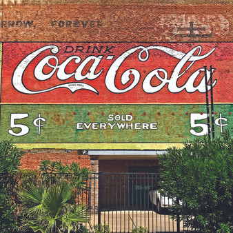 Being a major region for truck drivers who's retailers consist of Coca-Cola, Big Red, Kuerig, and many more - this Houston mural not only shows off its town's pride, but its talented art community, too.