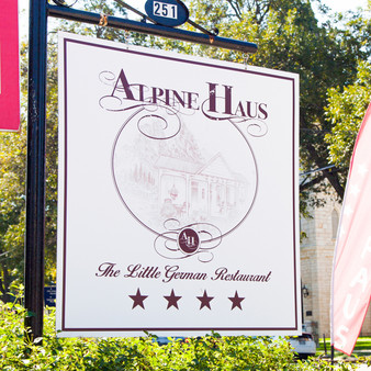 As an upscale destination serving scratch-made German fare in a historic locale, Alphine Haus is a family-owned restaurant whose goal is to bring fine dining to a cozy setting for an affordable price. With a wine & beer garden, their palette includes tones from Austria and Switzerland.