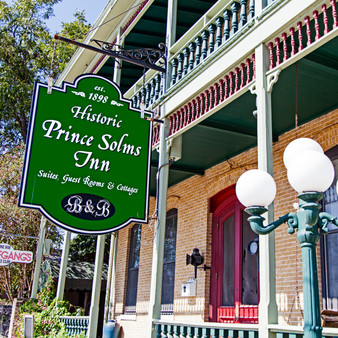Featuring its beautiful, rustic historic charm, the (formerly known as) Comal Hotel was built in 1845 and was managed for almost a century by the Kuse family. As the town began to progress right around it, what is now known as the Prince Solms Inn became a booming site that everyone wants a piece of, still today.