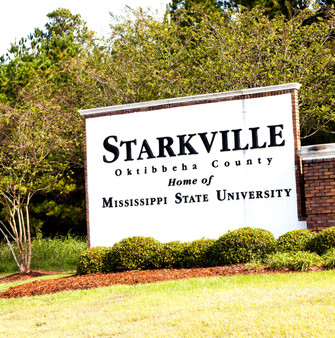 Starkville is a city in, and the county seat of, Oktibbeha County, Mississippi, United States. Mississippi State University, the state's land-grant institution and a public flagship university, is located partially in Starkville.