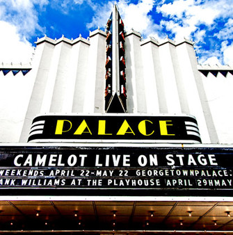 """The Palace Theatre is an historic theatre in Georgetown, Texas, United States. It is part of the Williamson County Courthouse Historic District. The theatre was ranked the best live entertainment venue in the Austin American-Statesman's 2017 """"Best of Georgetown"""" list."""