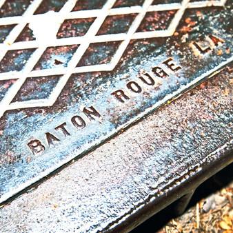 Baton Rouge Manhole cover.