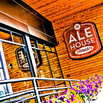 The Ale House at Amato's is a premier tap house featuring Colorado's craft beers, wines and distilleries. Located in Denver, Colorado, this beer garden and restaurant offers amazing views of Denver's skyline from the rooftop patio.