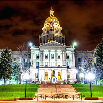 The Colorado State Capitol Building, located in Denver, Colorado, is the home of the Colorado General Assembly and the offices of the Governor of Colorado and Lieutenant Governor of Colorado. The building is intentionally reminiscent of the United States Capitol.