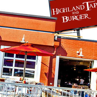 Highland Tap and Burger is an upscale burger restaurant that opened in 2010 in Denver, Colorado. This establishment is a lively bar & grill serving gourmet burgers & local microbrews in TV-filled digs with a patio.