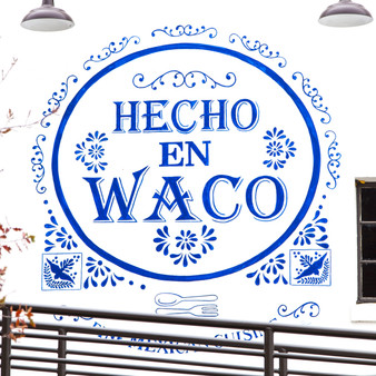 Hecho En Waco is located in the heart of the Silo District in Waco, Texas. Two blocks from Magnolia Silos, Hecho is a cornerstone of Waco culture and a must-see destination! Presenting Mexican and Tex-Mex staples, meals here are turned out in an unfussy dining room with full bar and upscale, outdoor seating.