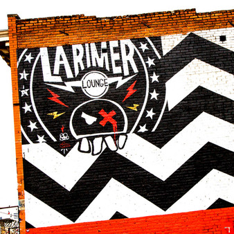 Larimer Lounge is a live music venue, established in 2002 in Denver's Rino Neighborhood. Larimer is known for being an old-time bar east of downtown pouring drinks and showcasing punk rock & alternative bands.
