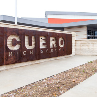 Cuero High School is a public high school located in Cuero, Texas and classified as a 4A school by the UIL. It is part of the Cuero Independent School District located in central DeWitt County.
