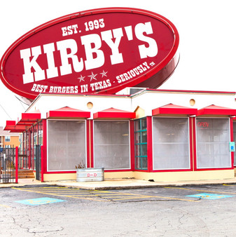 """You'll find Kirby's Korner Burgers when you search for """"best burgers"""". As a long-running standby for elevated burgers, onion rings and other American eats, Kirby's has been in business for over 26 years. Always serving food hot and fresh, they even have a drive-thru."""