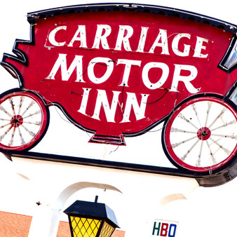 Providing shelter to many, Carriage Motor Inn has been around for decades. As motels are a highly lucrative business in this area, this infamous lodge was once a major tourist attraction as its right off Highway 40.