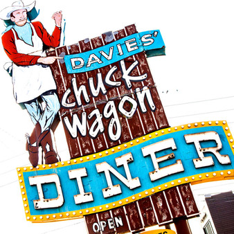 Davies' Chuck Wagon Diner was built in 1957 and was inducted into the National Historical Registry In 1997. This old time diner dishes up hearty American grub.