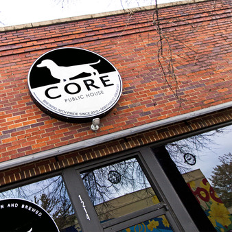 Core Brewing & Distilling Company started in September of 2010.  The pub carries the latest craft beers produced at the brewery in Springdale, AR.