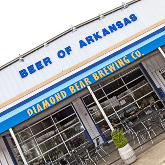 Diamond Bear is a local brewing Company founded in 2000 by Russ and Sue Melton with the mission of providing Arkansas and the region with a beer of their own. The restaurant was Little Rock's first production brewery in 15 years.