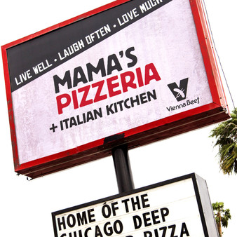 A brick-walled environment, longtime family operation Mama Mia's Pizzeria was designed to give everyone the feel of walking into an Italian  home. Serving pizza, calzones, and lasagna, this cozy setting is popular in McAllen, Texas.
