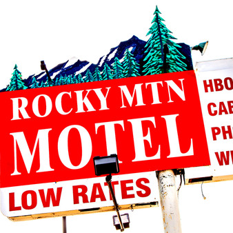 """Found on Colfax, which was once the """"Disneyland of Motels"""", the Rocky Mountain Motel earned its local fame by competing with other varying inns. To stand out, this motel created room with larger bathrooms than others, and included its own small kitchenette."""