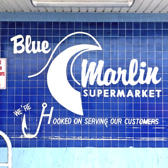 With everything you need and more, Blue Marlin Supermarket is known for offering fresh and local products. As its sea blue color scheme fits the charm of this town perfectly, Blue Marlin has become a staple for any visitor; this mural, as a result, is one you can't leave South Padre Island without viewing or taking a picture in front of.